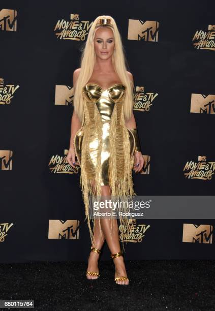 Model Gigi Gorgeous attends the 2017 MTV Movie And TV Awards at The Shrine Auditorium on May 7 2017 in Los Angeles California