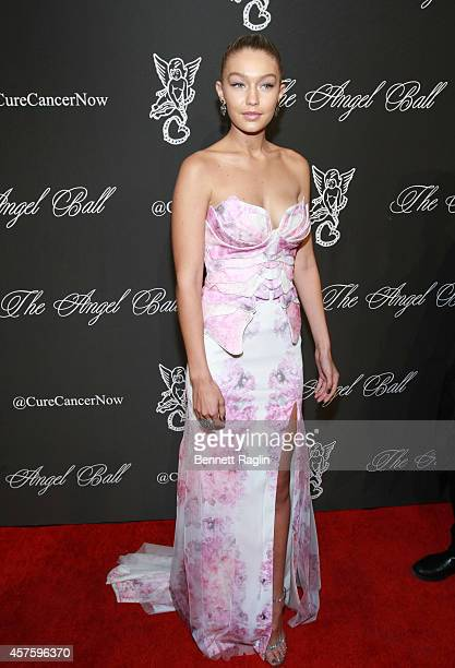 Model Gigi Hadid attends 2014 Angel Ball at Cipriani Wall Street on October 20 2014 in New York City