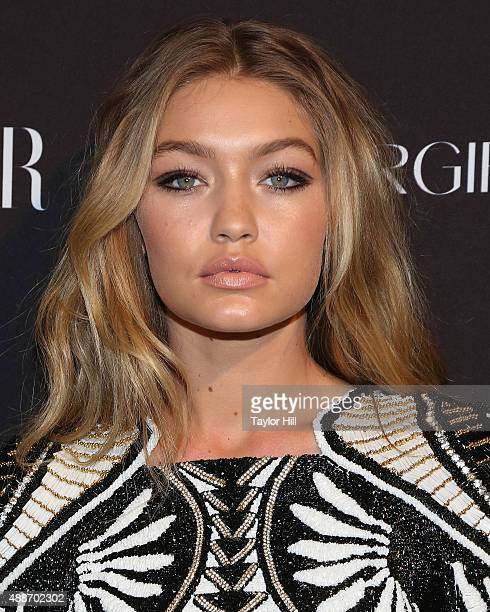Model Gigi Hadid attends the 2015 Harper ICONS Party at The Plaza Hotel on September 16 2015 in New York City