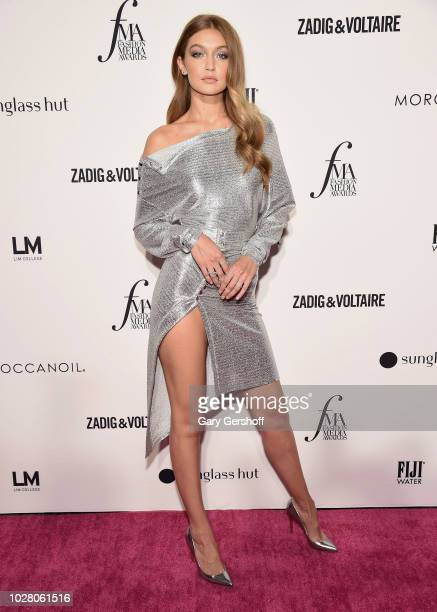 Model Gigi Hadid attends the Daily Front Row's 2018 Fashion Media Awards at Park Hyatt New York on September 6 2018 in New York City