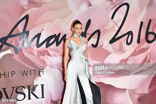 Model Gigi Hadid attends The Fashion Awards 2016 on December 5 2016 in London United Kingdom