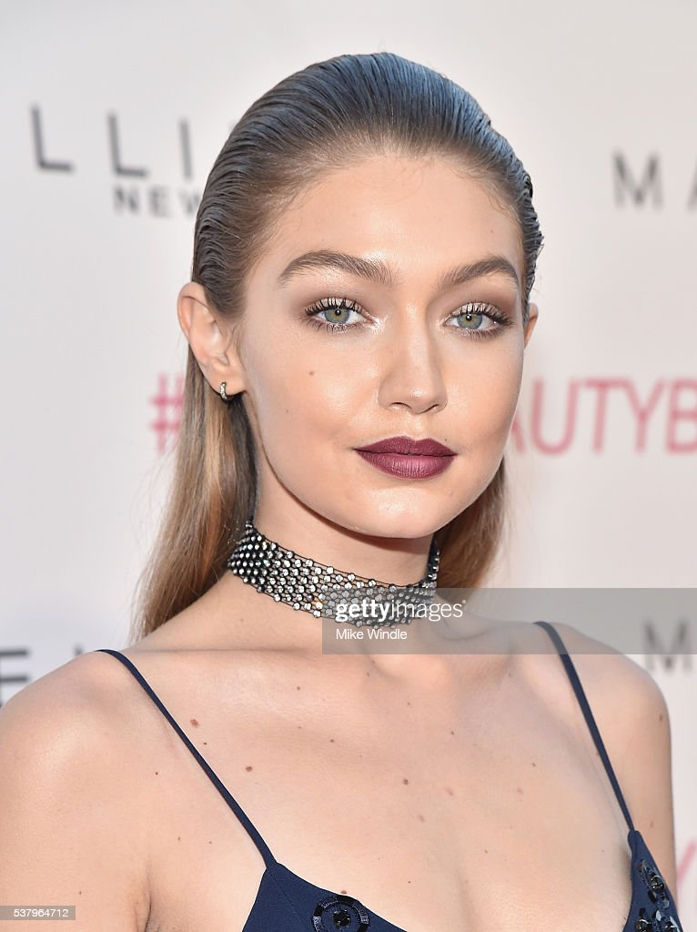 Maybelline New York Celebrates Their Latest Collection With An LA Beauty Bash Hosted By Gigi Hadid With Celebrity Makeup Artist Erin Parsons : News Photo