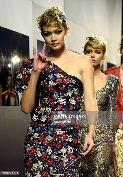 Model Gigi Hadid attends the Zoolander 2 World Premiere at Alice Tully Hall on February 9 2016 in New York City