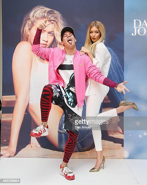Model Gigi Hadid greets fans at David Jones Elizabeth Street on August 7 2015 in Sydney Australia