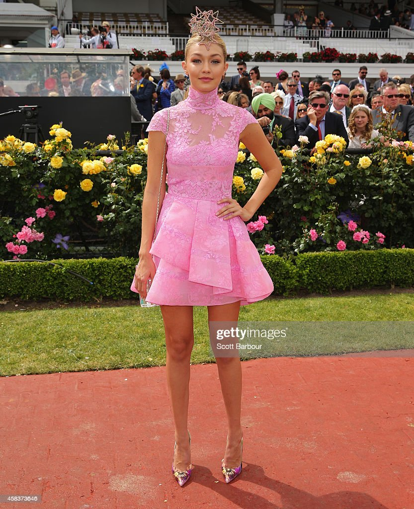 Celebrities Attend Melbourne Cup Day : News Photo