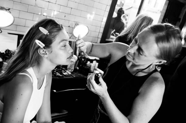NY: Tom Ford - Backstage - September 2019 - New York Fashion Week