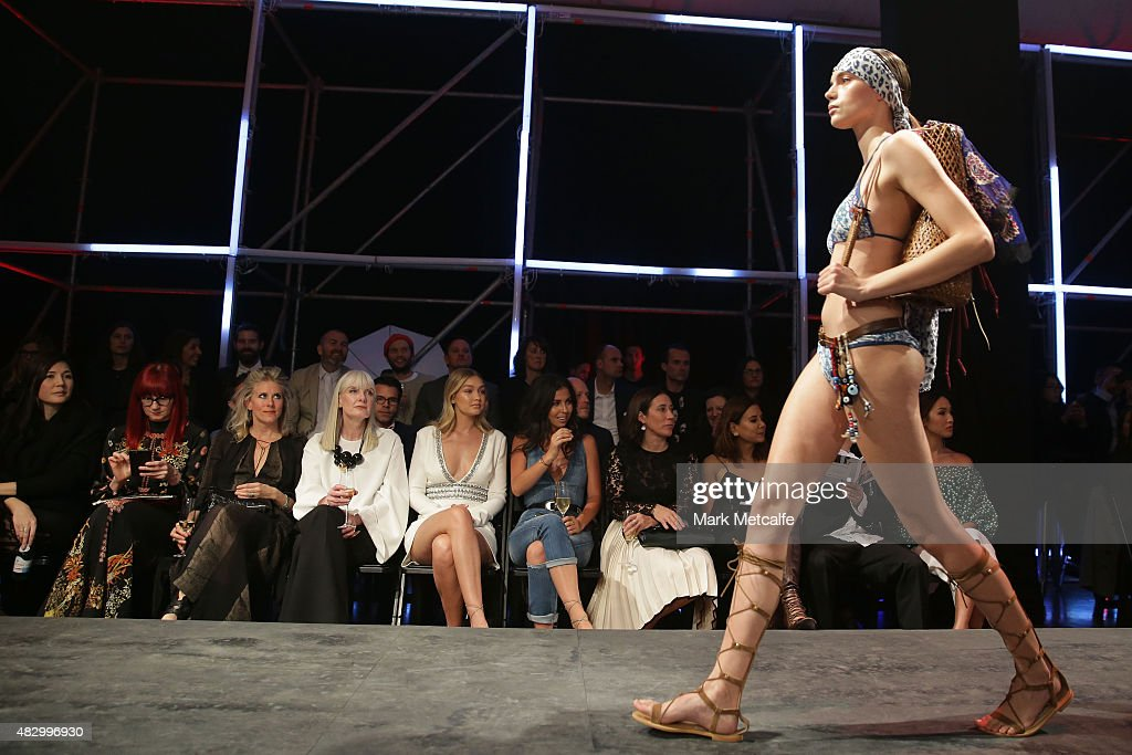 David Jones Spring/Summer 2015 Fashion Launch - Runway : News Photo