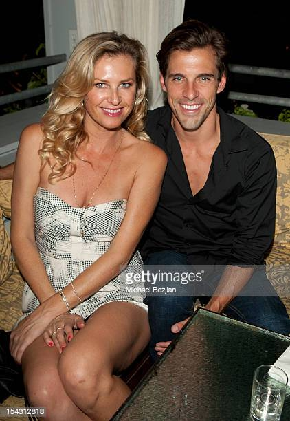 Model Gina Clarke and TV personality Madison Hildebrand attend Exceptional Children's Foundation Fundraising Gala at SkyBar at the Mondrian Los...