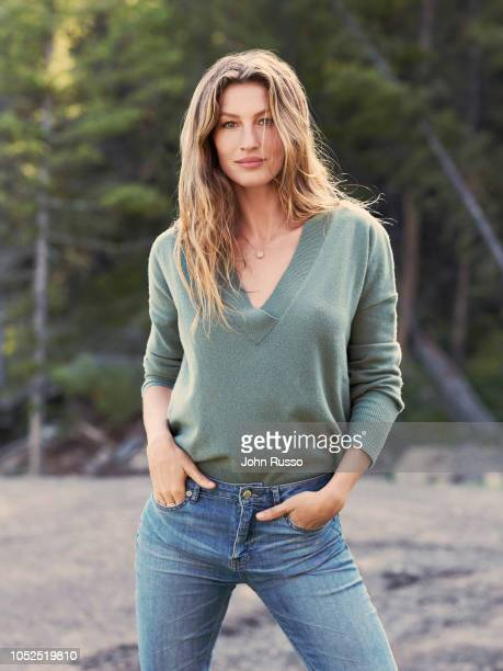 Model Gisele Bundchen is photographed on July 5 2018 in Montana United States