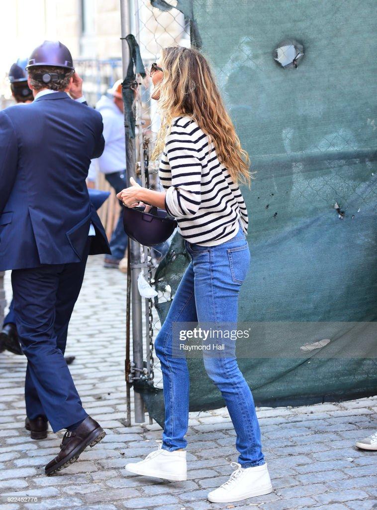 Celebrity Sightings in New York City - February 21, 2018 : News Photo