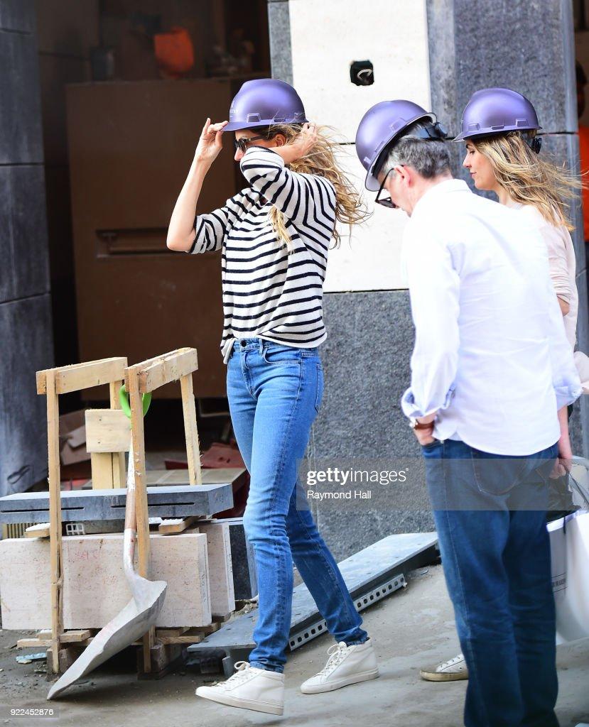 Celebrity Sightings in New York City - February 21, 2018 : Nachrichtenfoto