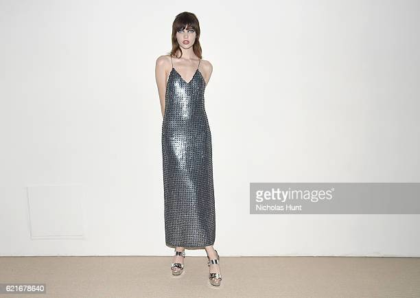 Model Grace Hartzel attends 13th Annual CFDA/Vogue Fashion Fund Awards at Spring Studios on November 7 2016 in New York City