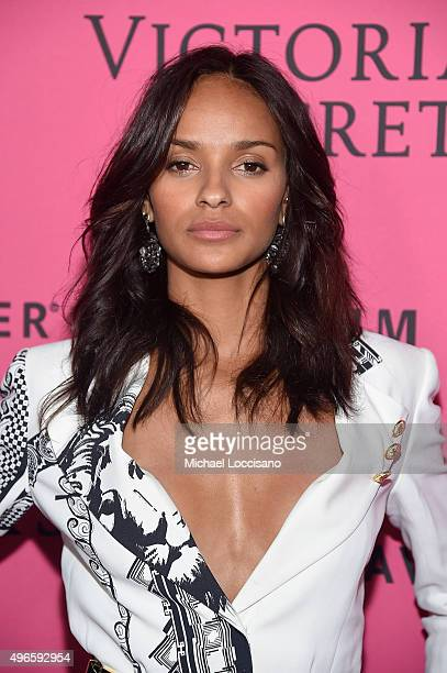 Model Gracie Carvalho attends the 2015 Victoria's Secret Fashion After Party at TAO Downtown on November 10 2015 in New York City