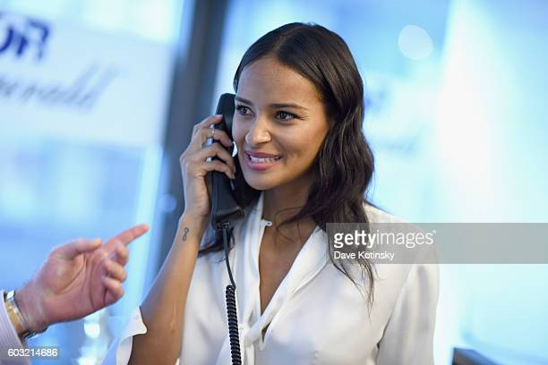 Model Gracie Carvalho attends the Annual Charity Day hosted by Cantor Fitzgerald BGC and GFI at Cantor Fitzgerald on September 12 2016 in New York...