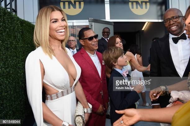 Model Gwendolyn Osborne attends the 2017 NBA Awards Live on TNT on June 26 2017 in New York New York 27111_002