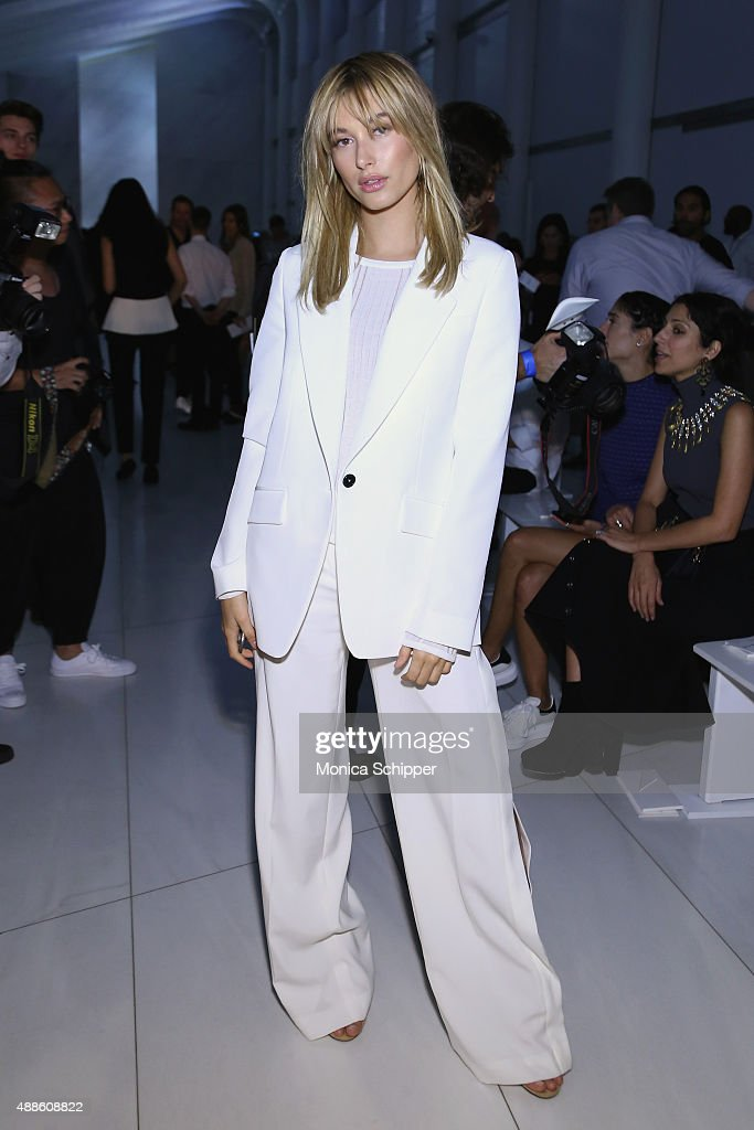 DKNY Women's - Front Row - Spring 2016 New York Fashion Week: The Shows