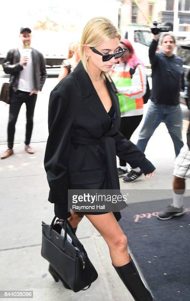 d5a45602ea31 Model Hailey Baldwin seen on the streets of Manhattan on September 7 2017 in  New York