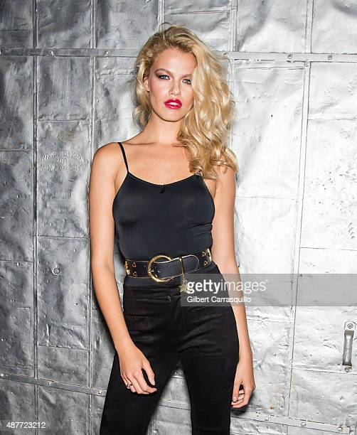 Model Hailey Clauson attends 'Gloss The Work Of Chris Von Wangenheim' Book Launch Party at The Tunnel on September 10 2015 in New York City