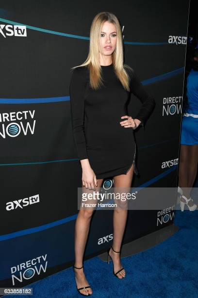 Model Hailey Clauson attends the 2017 DIRECTV NOW Super Saturday Night Concert at Club Nomadic on February 4, 2017 in Houston, Texas.