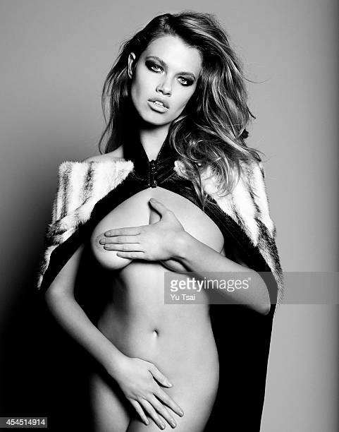 Model Hailey Clauson is photographed for Flaunt Magazine on June 7 2014 in Los Angeles California PUBLISHED IMAGE