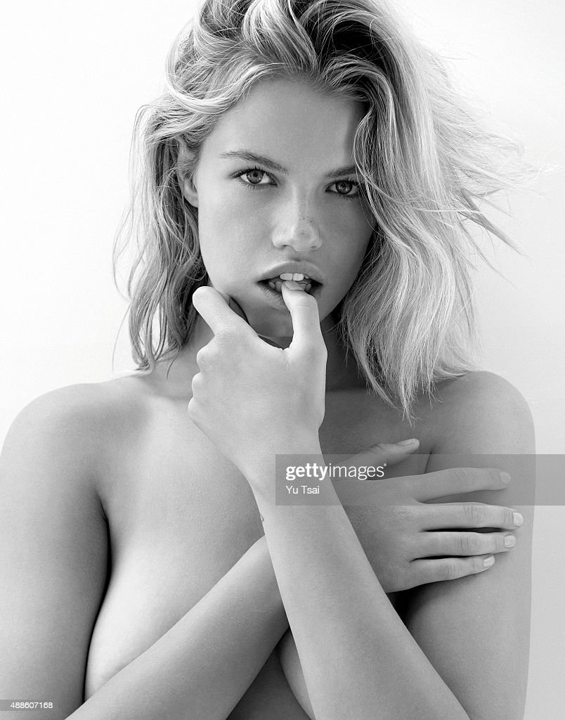 Model Hailey Clauson is photographed for Sports Illustrated on May 14, 2015 in Los Angeles, California.