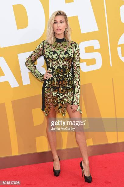 Model Hailey Rhode Baldwin attends the 2017 NBA Awards live on TNT on June 26, 2017 in New York, New York. 27111_003