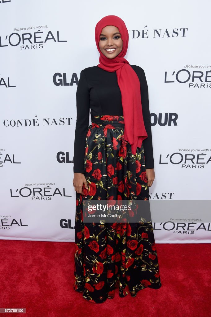 Model Halima Aden attends Glamour's 2017 Women of The Year Awards at Kings Theatre on November 13, 2017 in Brooklyn, New York.