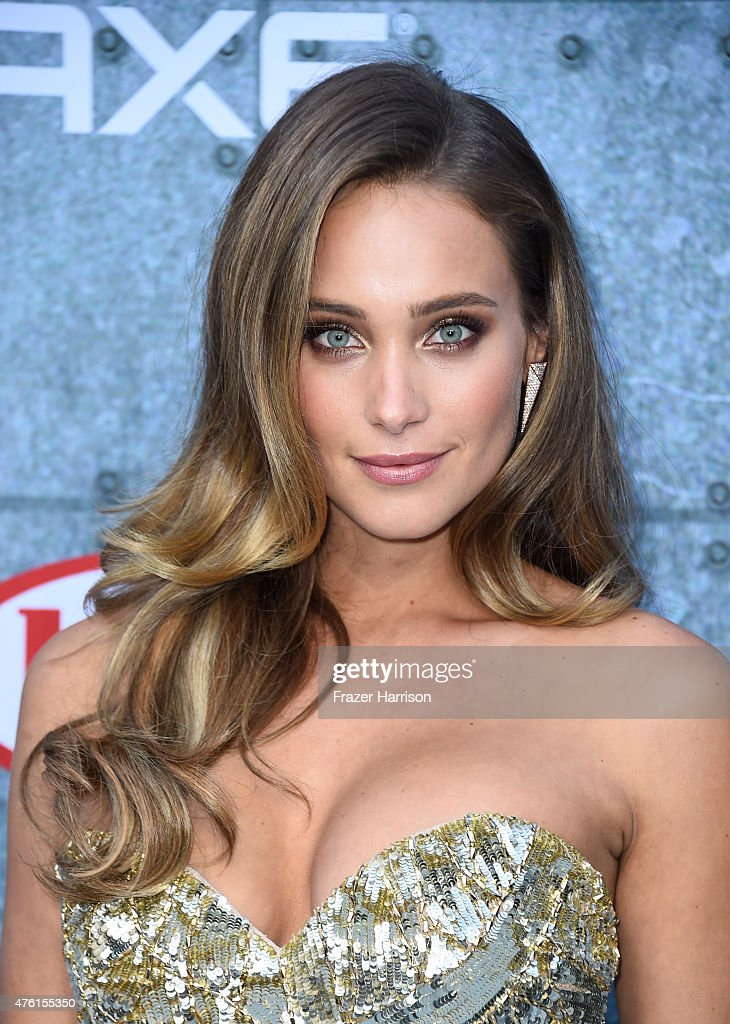 Model Hannah Davis attends Spike TV's Guys Choice 2015 at Sony Pictures Studios on June 6, 2015 in Culver City, California.