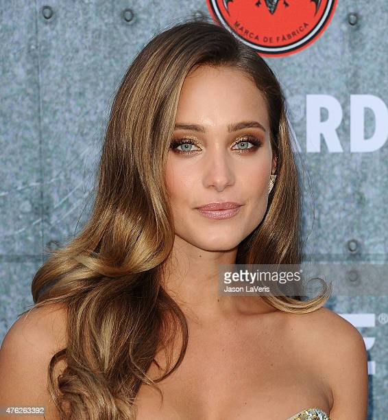 Model Hannah Davis attends Spike TV's Guys Choice 2015 at Sony Pictures Studios on June 6 2015 in Culver City California