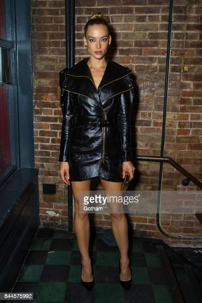 Model Hannah Ferguson attends V Magazine celebrates JeanPaul Goude at Acme on September 7 2017 in New York City