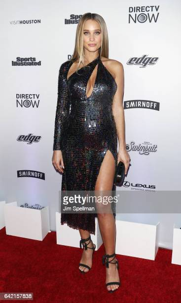 Model Hannah Jeter attends the Sports Illustrated Swimsuit 2017 launch event at Center415 Event Space on February 16 2017 in New York City