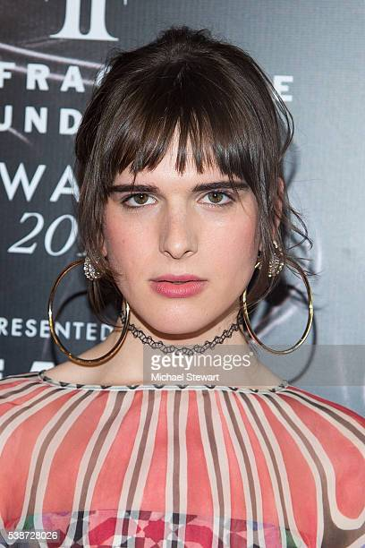 Model Hari Nef attends the 2016 Fragrance Foundation Awards at Alice Tully Hall at Lincoln Center on June 7 2016 in New York City