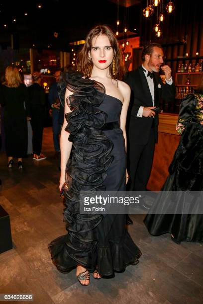 Model Hari Nef attends the Audi Lounge Night - Audi At The 67th Berlinale International Film Festival on February 9, 2017 in Berlin, Germany.