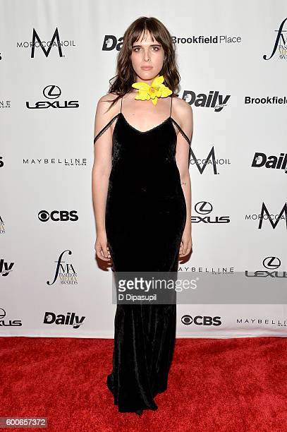 Model Hari Nef attends the The Daily Front Row's 4th Annual Fashion Media Awards at Park Hyatt New York on September 8 2016 in New York City