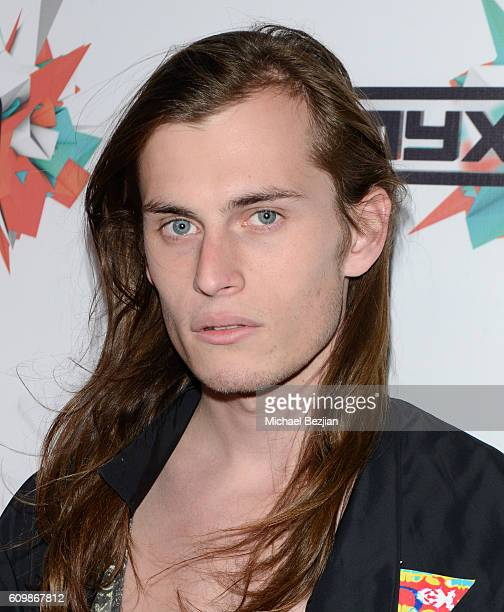 Model Harry Hains arrives at MYX TV presents Cast Me on September 22 2016 in Los Angeles California