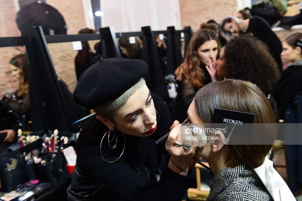Christian Pellizzari - Backstage - Milan Fashion Week Fall/Winter 2018/19