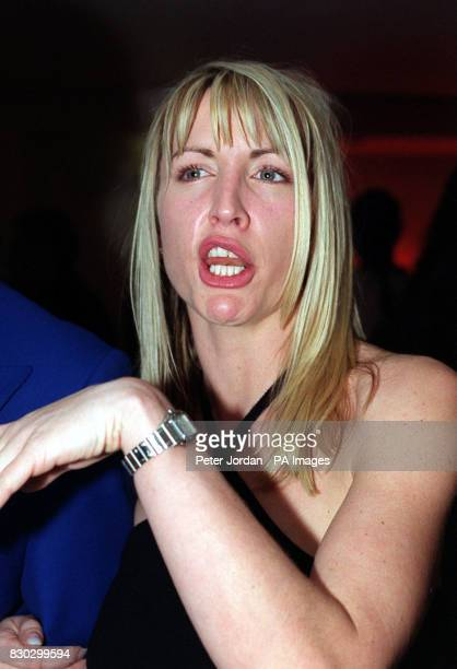 Model Heather Mills at the Vogue 20th Century Fashion Awards in London.