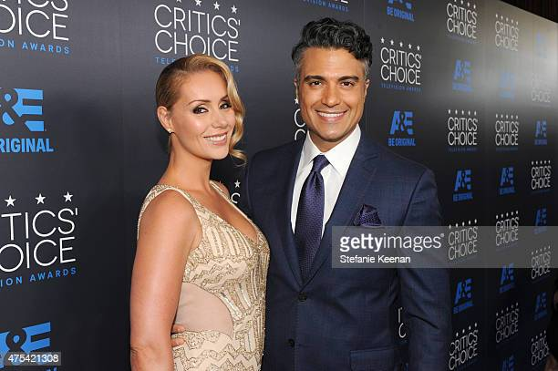 Model Heidi Balvanera and actor Jaime Camil attend the 5th Annual Critics' Choice Television Awards at The Beverly Hilton Hotel on May 31 2015 in...