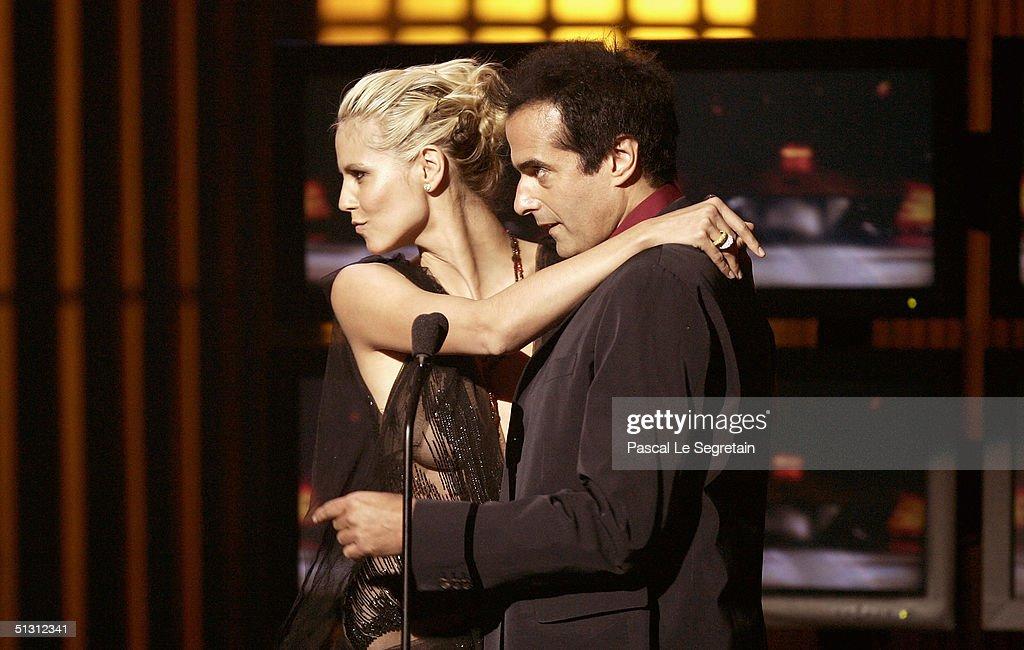 World Music Awards 2004 - Show : News Photo