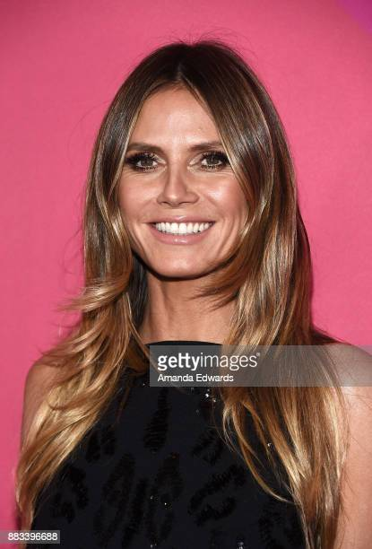 Model Heidi Klum arrives at Billboard Women In Music 2017 at The Ray Dolby Ballroom at Hollywood Highland Center on November 30 2017 in Hollywood...