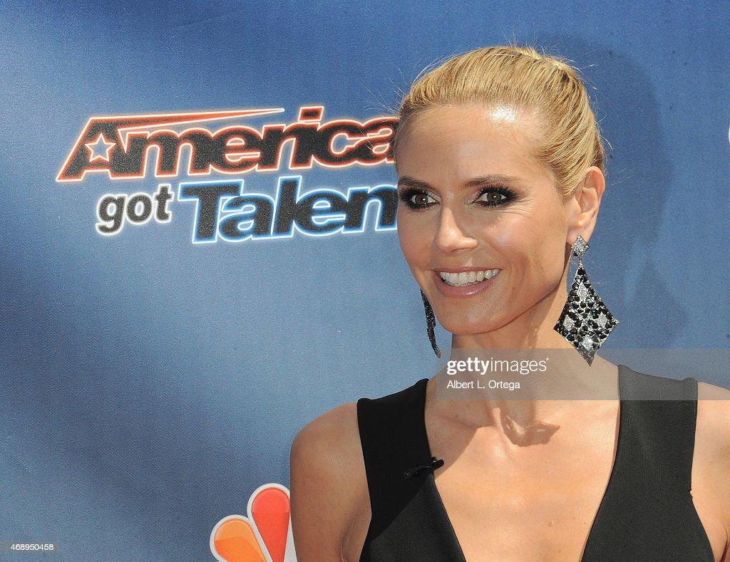 'America's Got Talent' Season 10 Red Carpet Event : News Photo