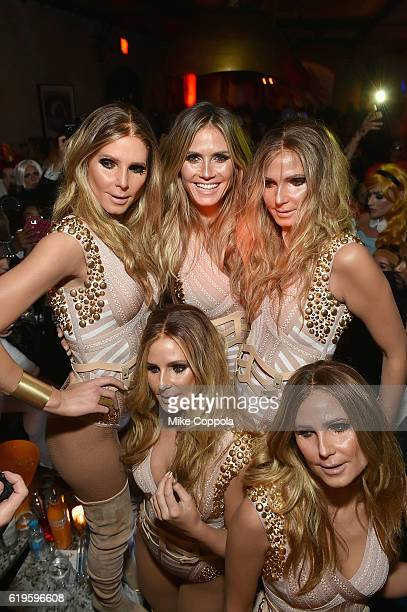 Model Heidi Klum attends Heidi Klum's 17th Annual Halloween Party sponsored by SVEDKA Vodka at Vandal on October 31, 2016 in New York City.