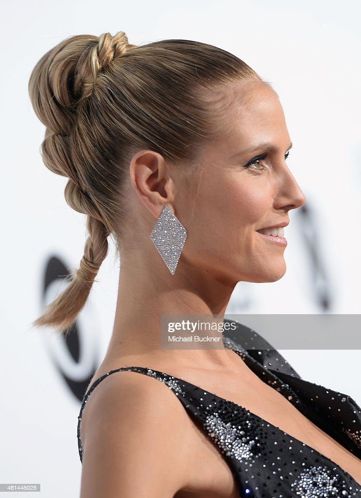 Model Heidi Klum attends The 40th Annual People's Choice Awards at Nokia Theatre L.A. Live on January 8, 2014 in Los Angeles, California.