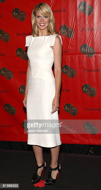 Model Heidi Klum attends the 67th Annual Peabody Awards at the Waldorf Astoria June 16, 2008 in New York City.