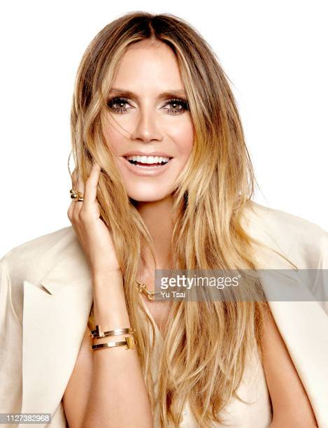 Model Heidi Klum is photographed for Harper's Bazaar Singapore on April 28 2017 in Hollywood California COVER IMAGE