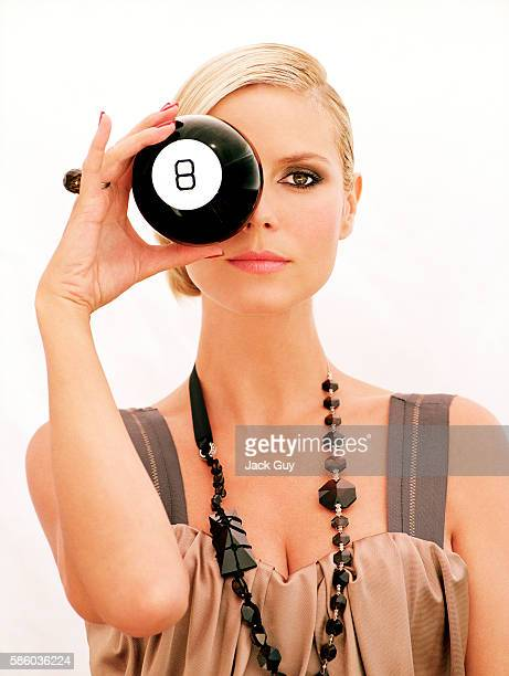 Model Heidi Klum is photographed for Item Magazine in 2006 COVER IMAGE