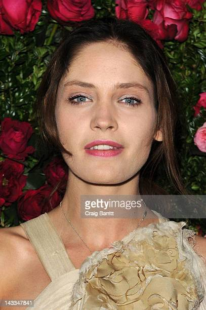 Model Heidi Mount attends the Chanel Artist Dinner during the 2012 Tribeca Film Festival at the The Odeon on April 24 2012 in New York City