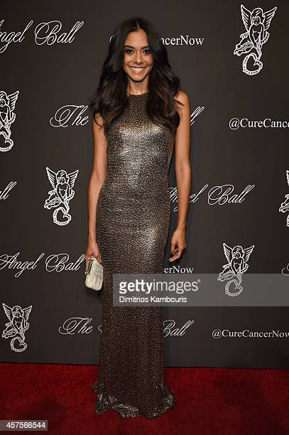 Model Heidy De la Rosa attends Angel Ball 2014 hosted by Gabrielle's Angel Foundation at Cipriani Wall Street on October 20 2014 in New York City