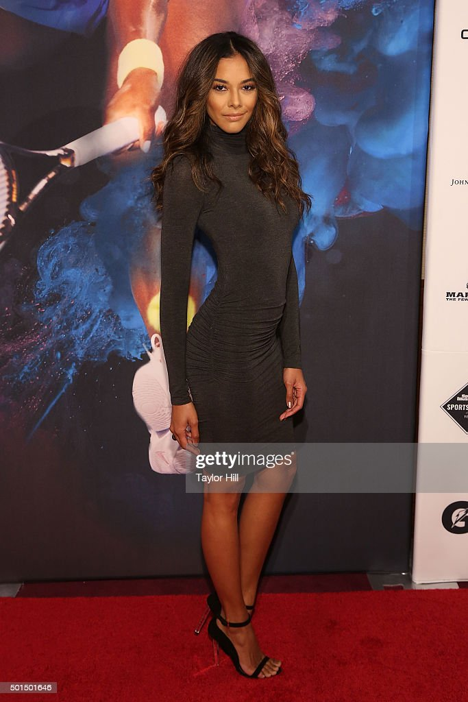 Model Heidy de la Rosa attends the 2015 Sports Illustrated Sportsperson Of The Year Ceremony at Pier Sixty at Chelsea Piers on December 15, 2015 in New York City.