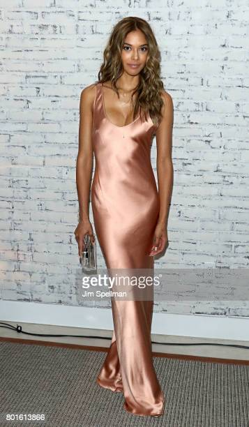 Model Heidy De la Rosa attends the screening after party for Baby Driver hosted by TriStar Pictures with The Cinema Society and Avion at The Crown on...